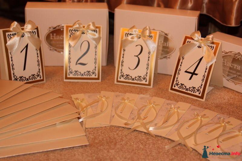 Приглашения и карточки на столы - фото 85260 -MILEDI-