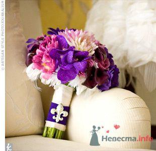 Фото 72081 в коллекции PURPLE Flowers For Bride - Brittany