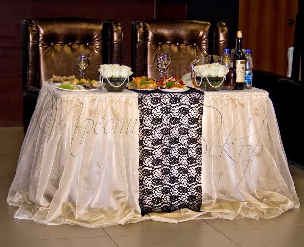 """стол молодых """"Империя"""" - фото 1951119 Студия свадебного дизайна Престиж Декор"""