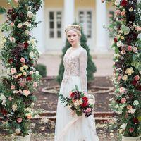 выездная регистрация, арка, церемония, платье, невеста, букет невесты
