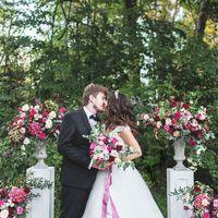 выездная регистрация, церемония, флористика, арка, цветы, цветочные композиции