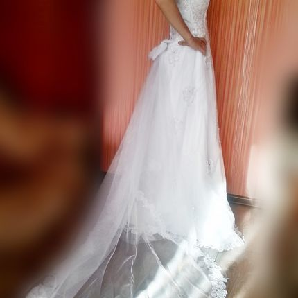 Свадебное платье H7