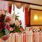 Оформление свадьбы в красно-розовом цвете