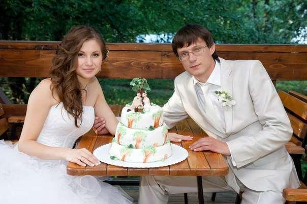 Фото 2205356 в коллекции Мои фотографии - Свадебные торты от Наталии Аржаковой