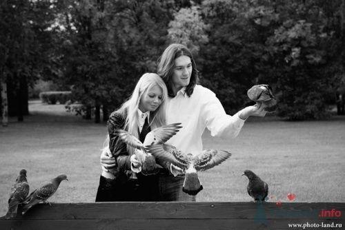 Фото 10511 в коллекции Love-Story: Любовь и голуби - Свадебные фотоистории от Андрея Егорова