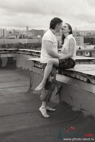 Фото 69165 в коллекции Над Москвой - Свадебные фотоистории от Андрея Егорова