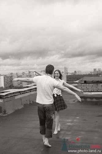 Фото 69174 в коллекции Над Москвой - Свадебные фотоистории от Андрея Егорова
