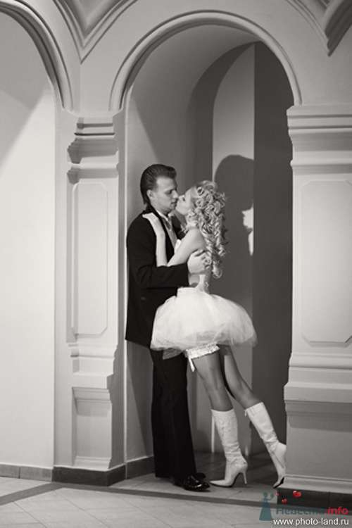 Елена и Александр (ГУМ, Москва) - фото 70721 Свадебные фотоистории от Андрея Егорова