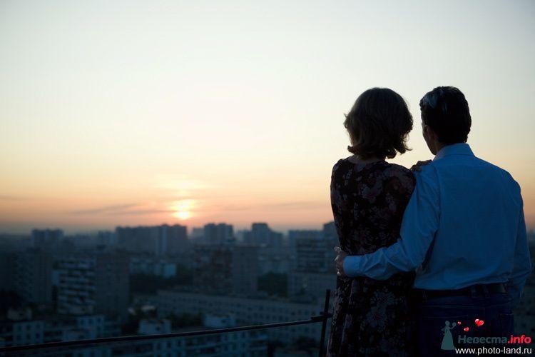 Love Story на крыше - фото 94828 Свадебные фотоистории от Андрея Егорова