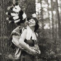 Тематическая Индейская Свадьба Ани и Леши