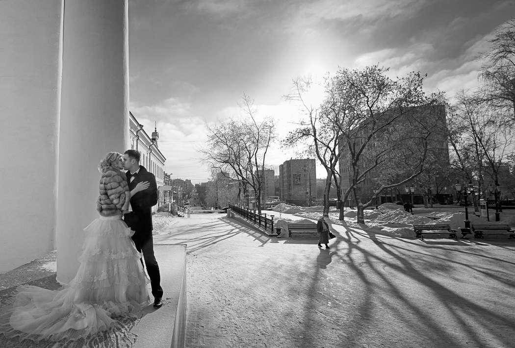 Зимняя свадьба. - фото 2160586 Свадбеный фотограф Татьяна Кугушева