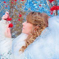 Свадьба зимой.  Свадебный фотограф Лобанова Елена