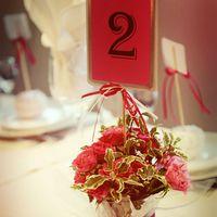 букет на гостевой стол и номер