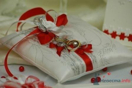 """Фото 72276 в коллекции подушечки для колец - """"Дом праздника"""" - свадебное оформление"""