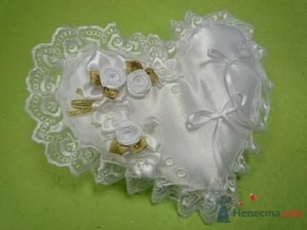 """Фото 72282 в коллекции подушечки для колец - """"Дом праздника"""" - свадебное оформление"""
