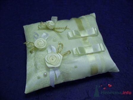 """Фото 72286 в коллекции подушечки для колец - """"Дом праздника"""" - свадебное оформление"""