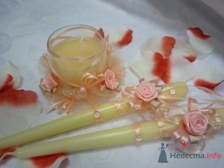 """Фото 72327 в коллекции свадебные свечи - """"Дом праздника"""" - свадебное оформление"""