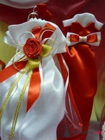 """Фото 72624 в коллекции свадебные бокалы и шампанское - """"Дом праздника"""" - свадебное оформление"""