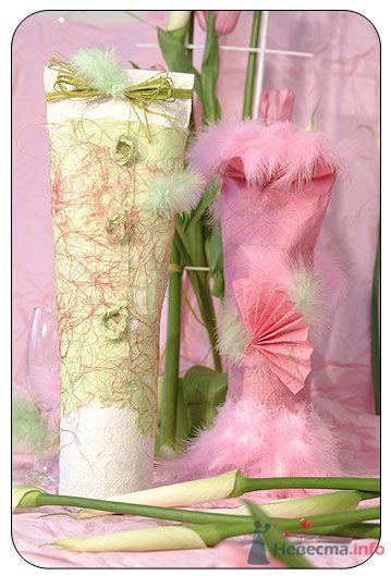 """Фото 72628 в коллекции свадебные бокалы и шампанское - """"Дом праздника"""" - свадебное оформление"""
