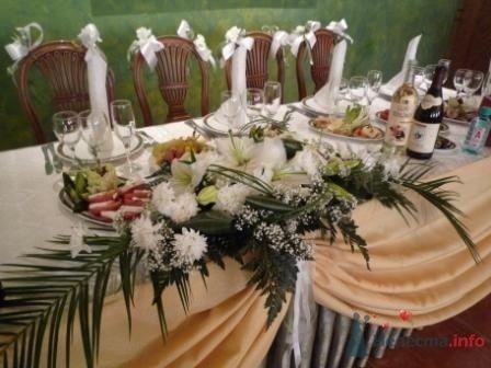 """Фото 72636 в коллекции оформление свадебных залов - """"Дом праздника"""" - свадебное оформление"""