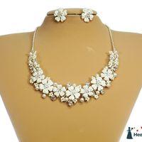Украшение для Невесты (ожерелье и серьги)