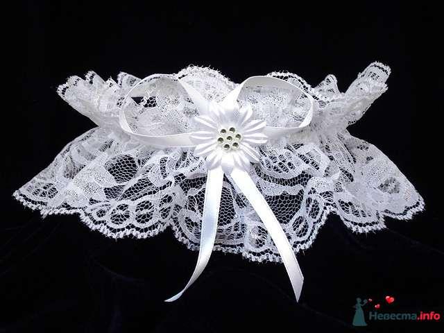 """Свадебная подвязка  - фото 84261 """"Свадебный сундучок"""" - свадебные аксессуары"""