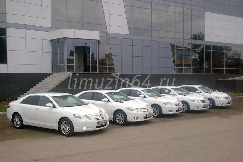 "КОРТЕЖ - Toyota Camry белые - фото 633547 Агентство ""Кортеж"" - аренда транспорта"