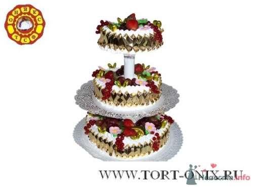 """Свадебный торт - фото 4290 Кондитерская компания """"ТСФ Оникс"""""""