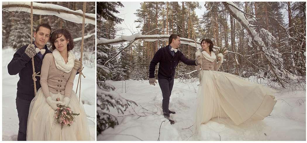 Фото 1934421 в коллекции Зимняя LoveStory Анастасии и Дмитрия - Свадебный фотограф Анна Алфёрова