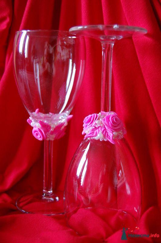 Фото 90825 в коллекции Свадебные бокалы с ручной лепкой!!! - Невеста01