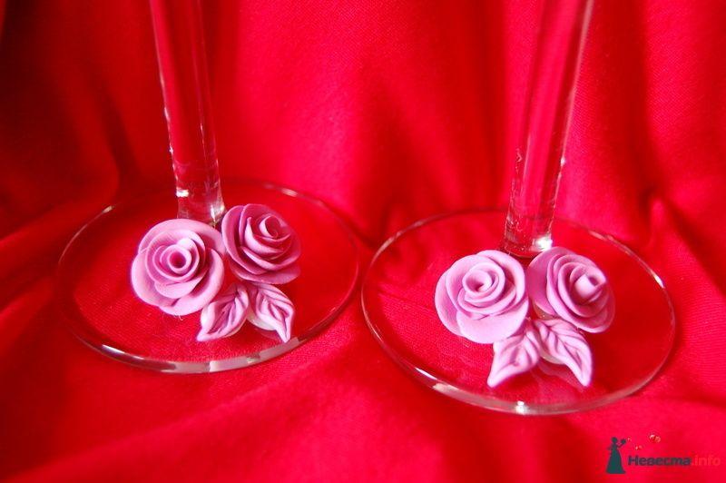 Фото 90830 в коллекции Свадебные бокалы с ручной лепкой!!! - Невеста01
