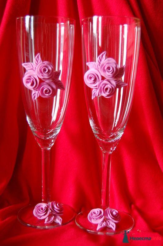 Фото 107118 в коллекции Свадебные бокалы - Невеста01