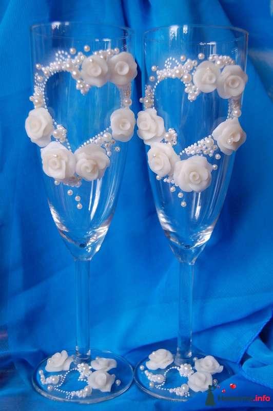 Фото 108730 в коллекции свадебные бокалы!!!!! - Невеста01