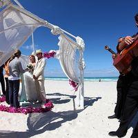 Церемония регистрации на пляже