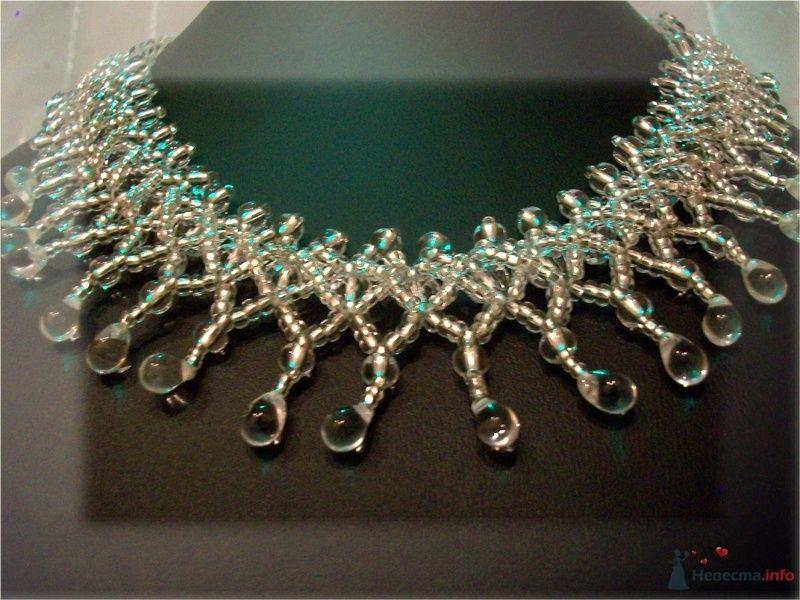 Ожерелье из бисера и бусин Чехия - фото 79283 Невеста01