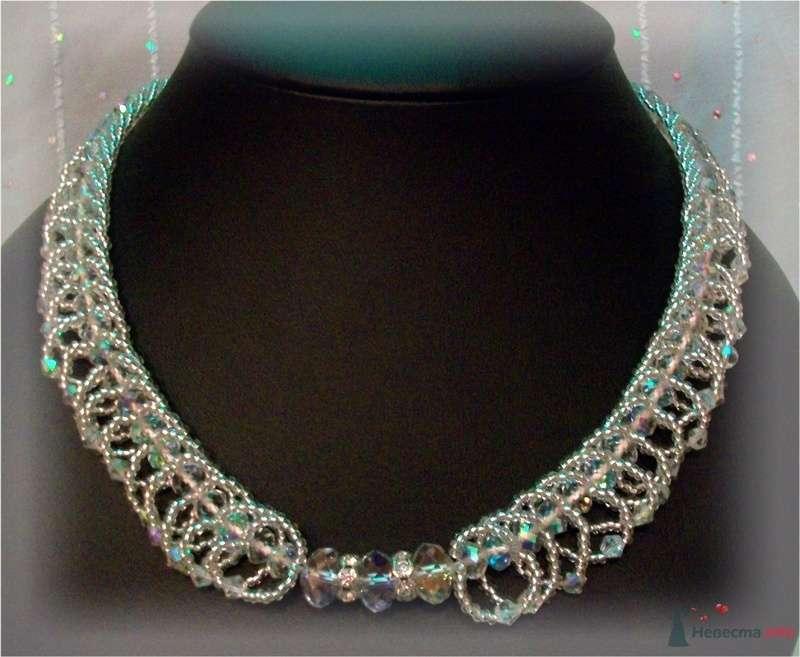 Ожерелье из бисера и бусин Чехия - фото 79285 Невеста01