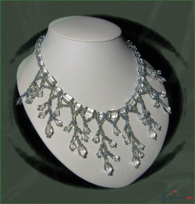 Ожерелье из Чешской фурнитуры