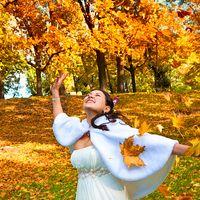 Осення свадьба в Лефортовском парке