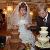 Шоколадное фондю и шоколадный фонтан