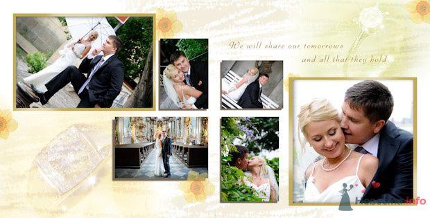 Фото 76899 в коллекции Свадебная фотография в свадебной книге - Василий Саньков. Свадебный и семейный фотограф