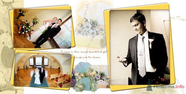Фото 76911 в коллекции Свадебная фотография в свадебной книге - Василий Саньков. Свадебный и семейный фотограф