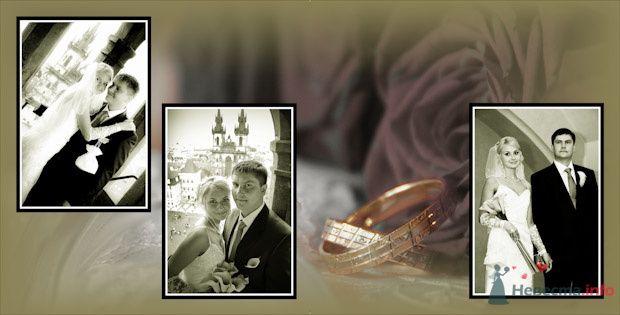 Фото 76912 в коллекции Свадебная фотография в свадебной книге - Василий Саньков. Свадебный и семейный фотограф