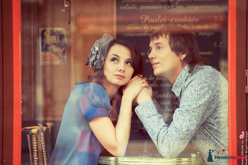 Парижская история Насти и Лёши - фото 129405 Фотограф Наталья Дуплинская