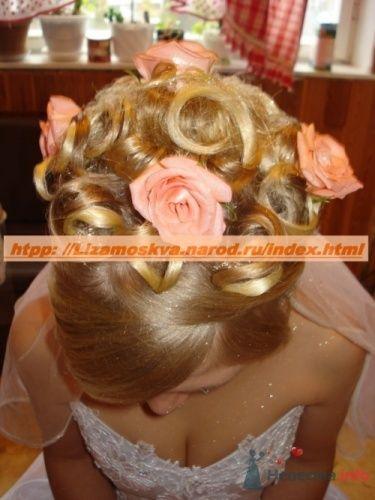 Фото 16248 в коллекции Мои работы свадебные причёски.