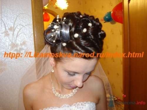 Фото 16249 в коллекции Мои работы свадебные причёски. - Елизавета Блеск