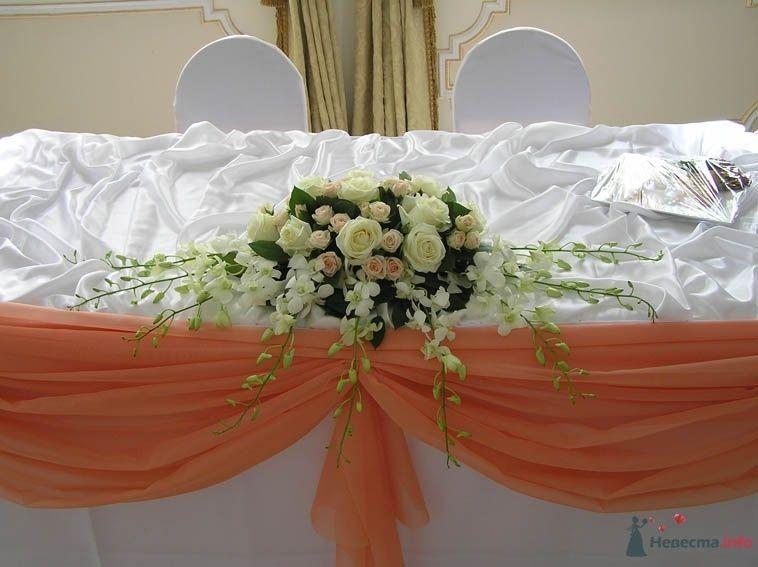 Фото 38702 в коллекции Украшение банкетного зала цветами
