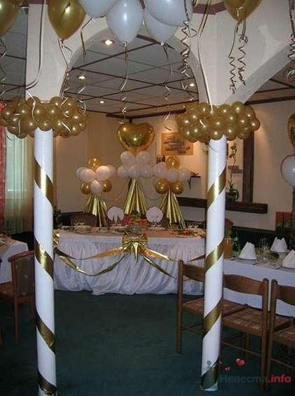 Фото 38716 в коллекции Украшение банкетного зала воздушными шарами - Дизайн-студия «Art-Infinity»