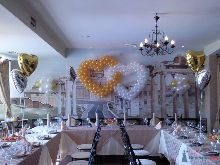 Фото 38782 в коллекции Украшение банкетного зала воздушными шарами - Дизайн-студия «Art-Infinity»
