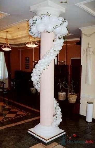 Фото 54463 в коллекции Украшение банкетного зала воздушными шарами - Дизайн-студия «Art-Infinity»