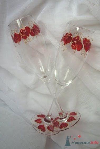 Фото 54476 в коллекции Ручная роспись свадебных бокалов